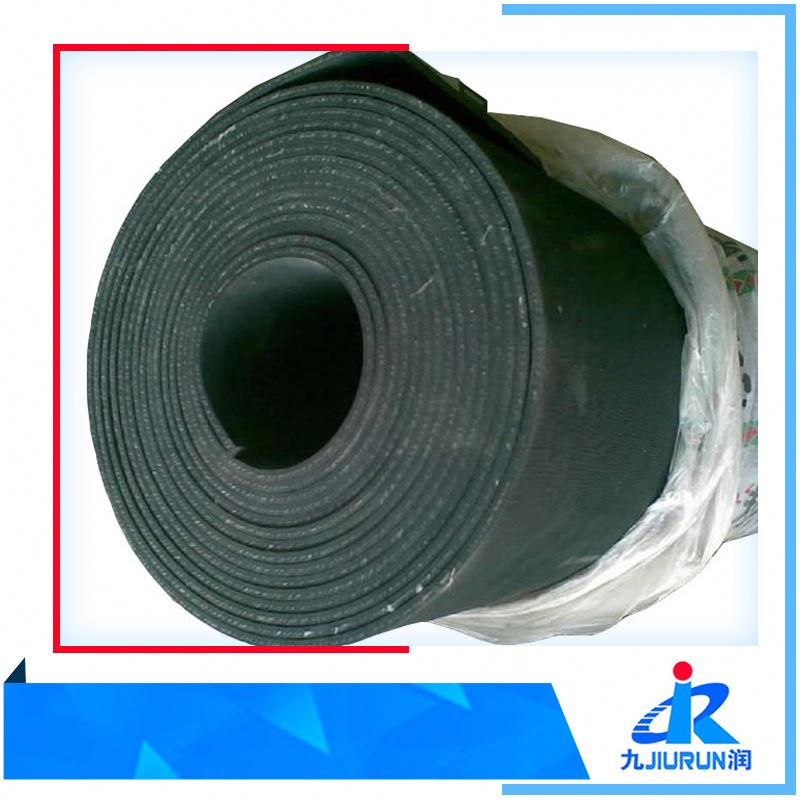 Tear Resistance 10mm Cloth Insertion Rubber Sheet Nylon Insert