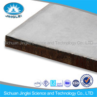 Abrasion Resistance Explosive weld 403 stainless steel cladding steel plate