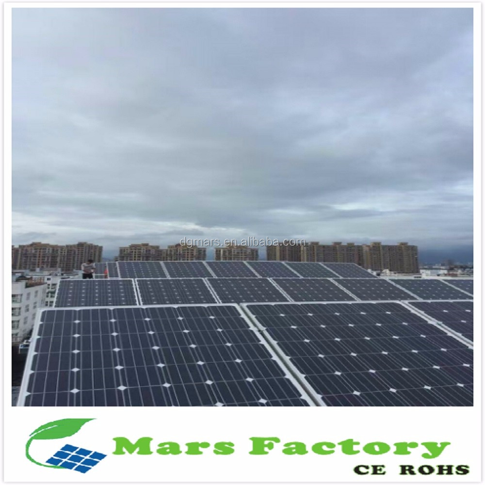 Market niche China Supplier solar system 1kw with battery and DC/AC output / solar electricity for home