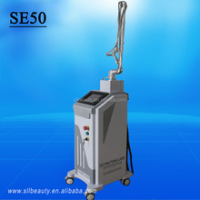 2016 fractional with RF 10600nm co2 fractional 10600nm scanner laser
