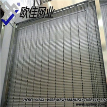 Wire Woven Drapery for Decoration, Stainless Steel or Aluminum Alloy Metal Curtain