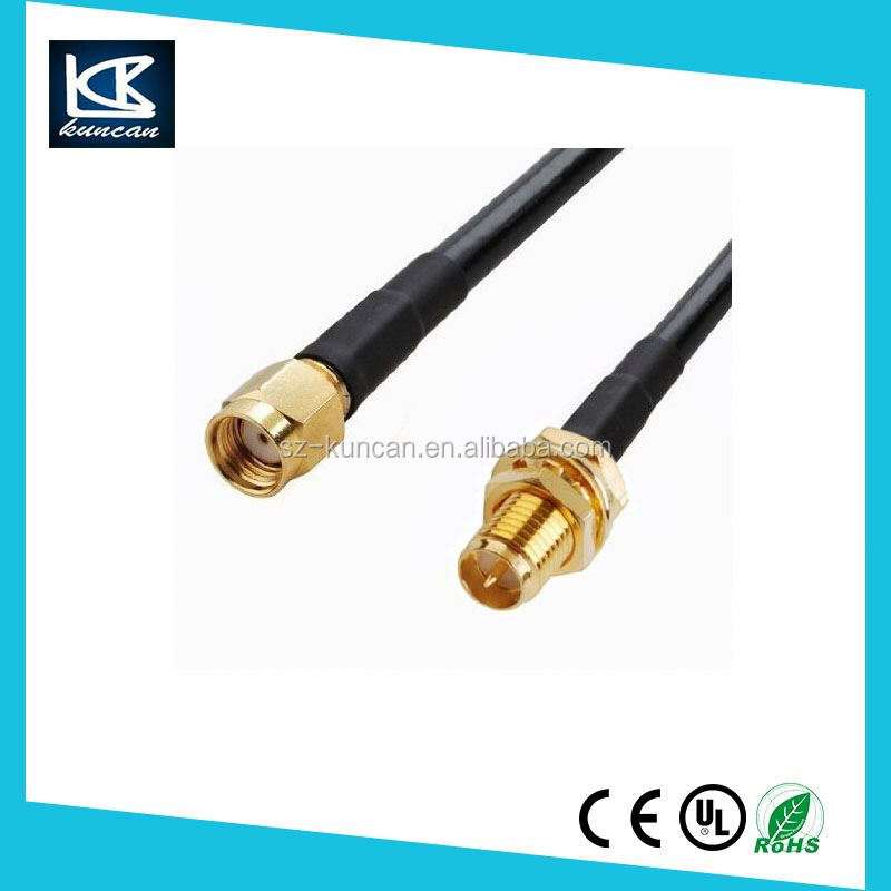 Alibaba wholesale pigtail cable with sma female connector RF coaxial cable assembly with SMA/SMB/BNC/MCX/MMCX/IPEX Connectors
