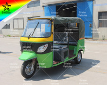 Newest Design Electric Passenger Tricycle 6 Seater Tuk Tuk