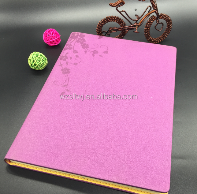High Quality Promotional Recycled Leather Bound Buy Notebook In China