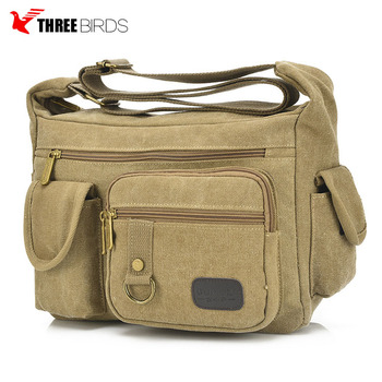 Hot sale mens canvas messenger bag