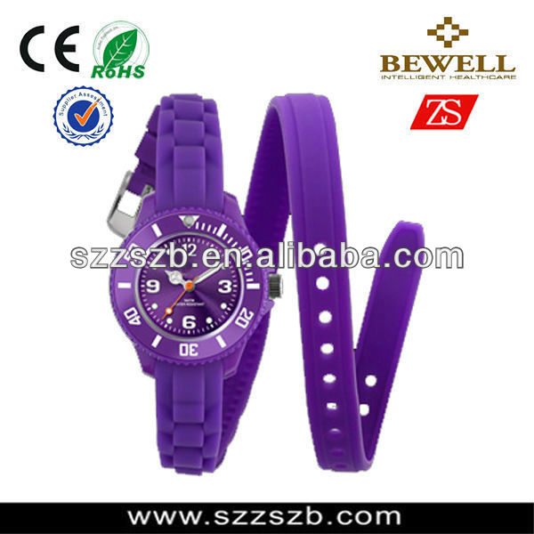 2016 China factory & Wholesaler Customized new arrival silicone watch Manufacturer