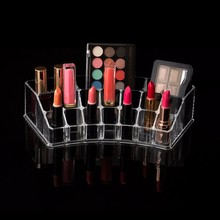 transparent acrylic makeup organizer Personalized makeup case plastic cosmetic organizer