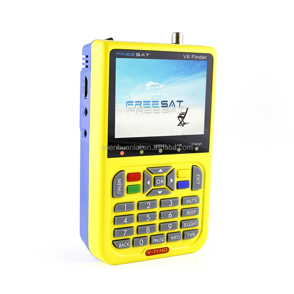 Wholesale Low Price 3.5 Inch Lcd Display Dvb-S/S2 V8 HD Digital Mpeg-4 Satellite Signal Finder Meter