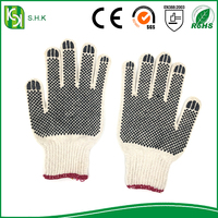 Powder Free Soft Hands Cotton Gloves cotton lined rubber gloves