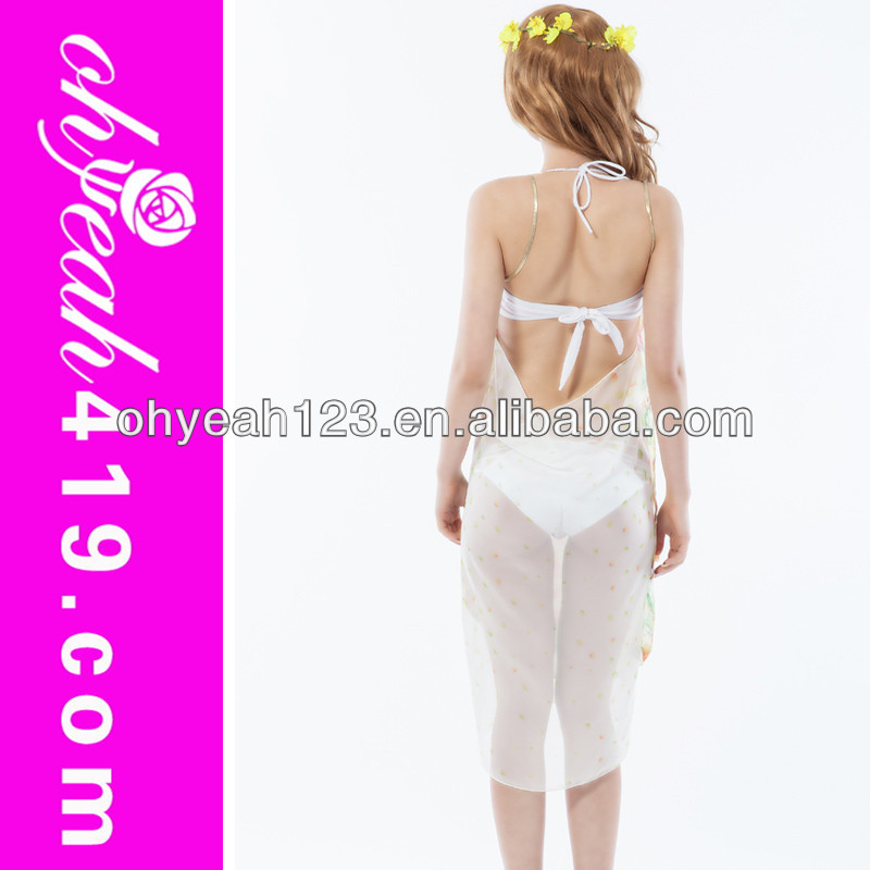 Comfortable transparent custom spa sarong tenun