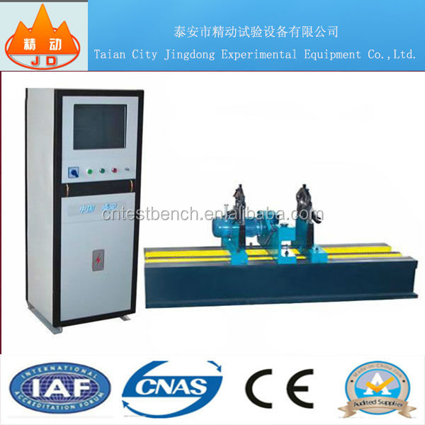 JD-CB lap belt drive balancing machine