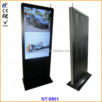 Touch standing Led advertising display