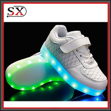led light shoes 2016 New Style Colorful Running Sport/Casual Changeable Color light up adults led shoes