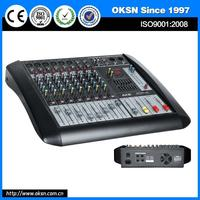 Brand new MPD1002USB professional 8-channel auto dj mixer with high quality