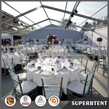 Clear wedding marquee tent for outdoor party events for sale