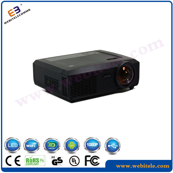 WB-S300 Ultra short throw projector,dlp projector 3800 lumens by TI,1280x800pixels 1m@120inch