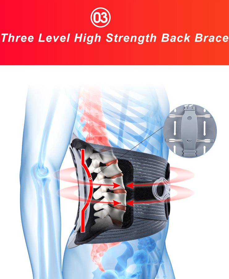 Soutien lombaire pour le dos Meilleure ceinture de soutien pour le dos
