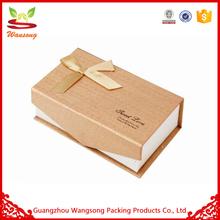 Disposable Paper Suitcase Shaped Embossed Magnetic Gift Box