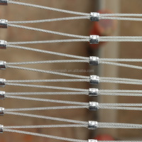 stainless steel wire rope mesh for decoration and protection