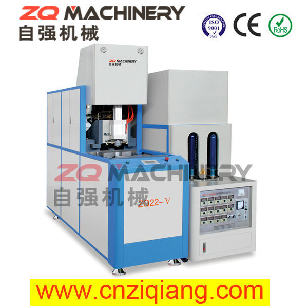 PET stretch blow molding machine for dried sour pulm