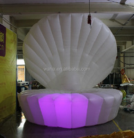 13ft white/lighting/decoration inflatable shell model/sea shell W1039