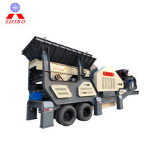 Small rocks granite truck used mobile jaw crusher plant for sale price