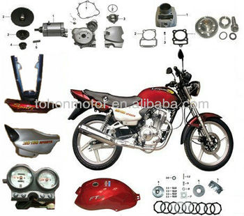 Motorcycle Parts China, MD150 Sports