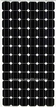 195W Mono pv solar panel module with 100% TUV standard