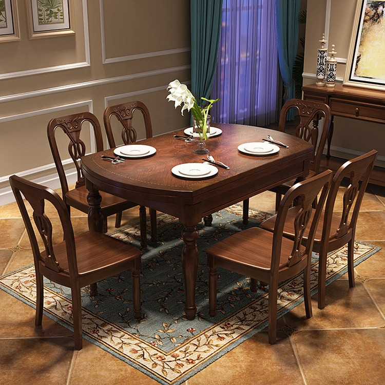 American Style Hot Selling Antique <strong>Furniture</strong> Folding ... - Wholesale Dining Room Furniture Classic - Online Buy Best Dining