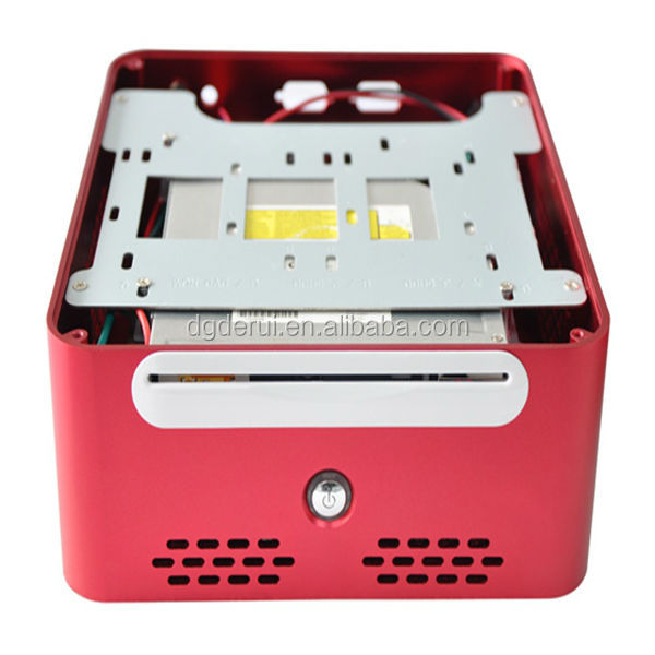 2014 hot sale red stamping computer case