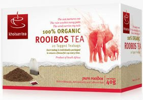 Rooibos organic (pure, with vanilla and with spices)