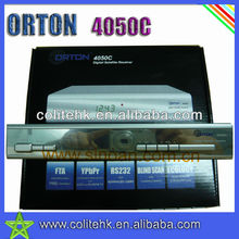 FTA Digital Satellite Reicever 4050C Satellite Set Top Box 4050C With BISS PATCH ORTON 4050C