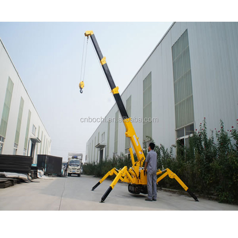 1T/3T Crawler Fortable Mini Crane Used for Building