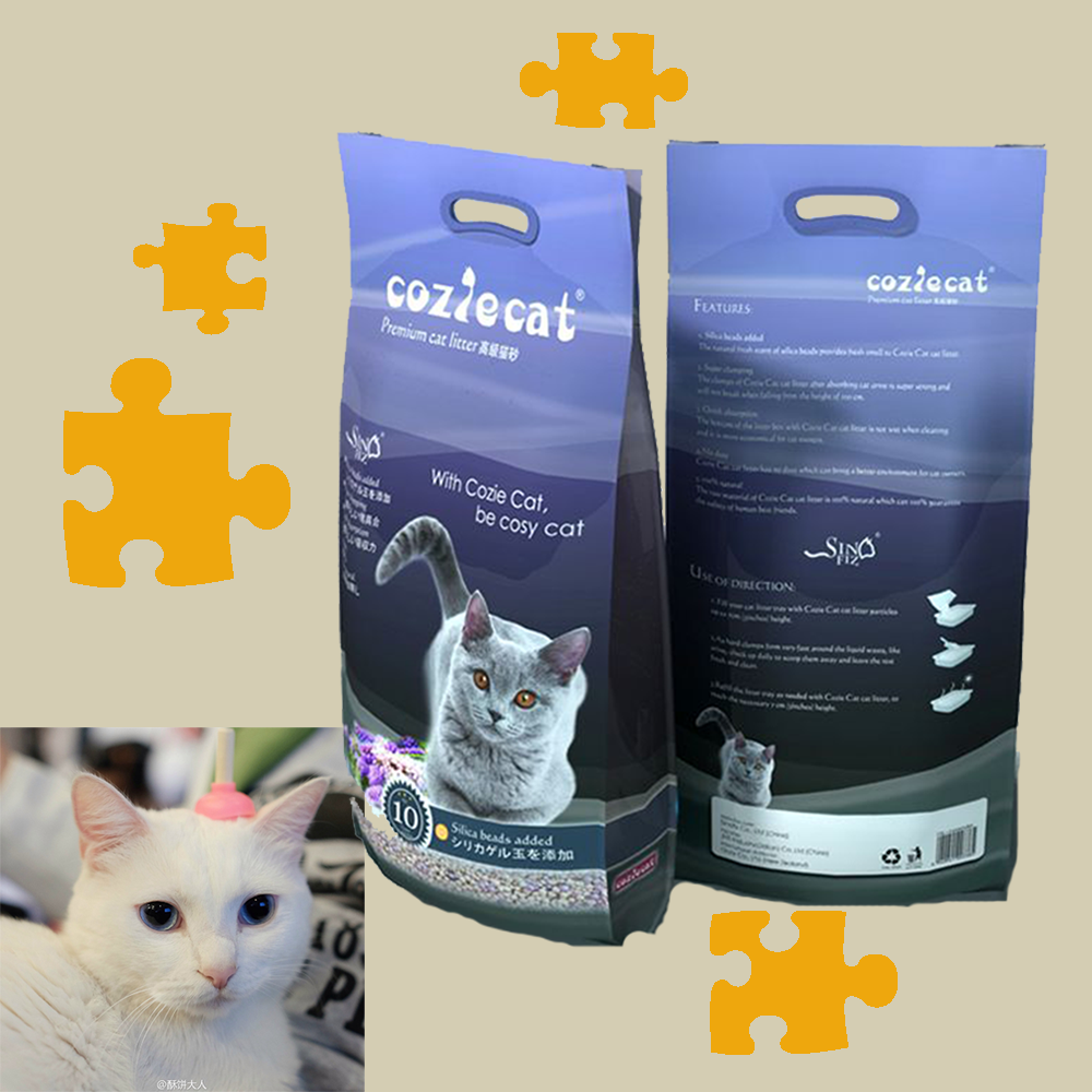 irregular shape bentonite clay made in China optimal quality scoopable cat litter for the market