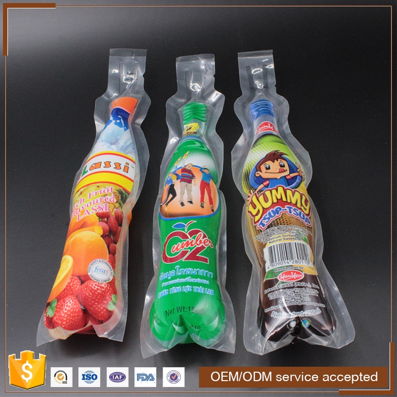 plastic long ice lolly packaging bag popsicle bags