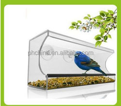 wall-hanging various styles bird feeder for sale, acrylic winder bird feeder