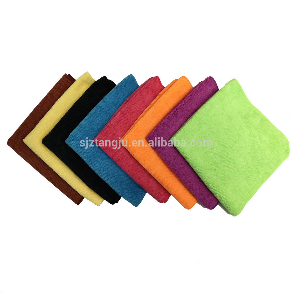 40*40cm microfiber cleaning cloth microfibre cloth
