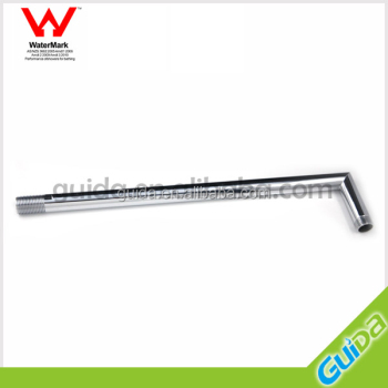 ROUND CHROME SHOWER FEMALE EXTENSION ARM FOR HEAD OR ROSE