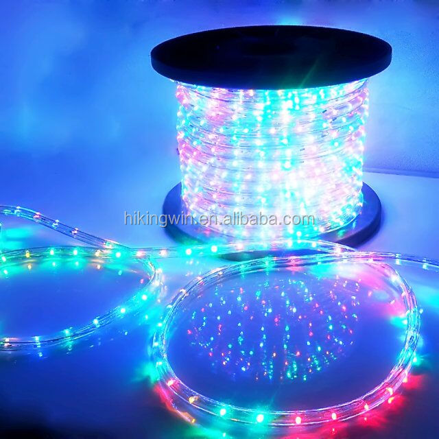 China wholesale 220V/110V dimmer led rope light waterproof for swimming pool wedding holiday chirstmas