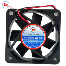 60x60x25mm Brushless DC Axial Fan 12v 24v 48v