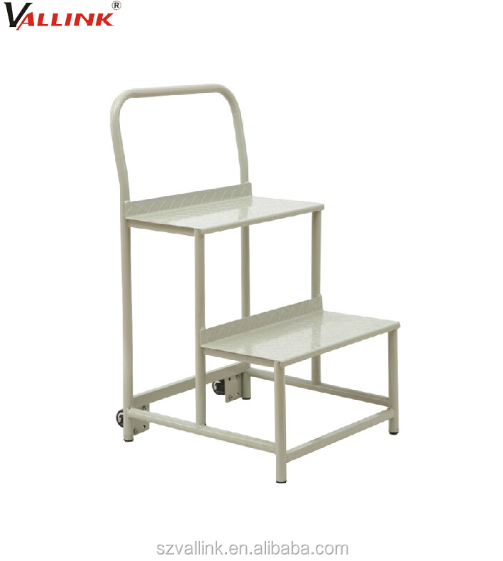 Movable 2 Steps Stool , Work Platform Ladder