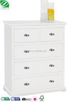 SH Living room home styles naples drawers chest in white