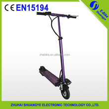250W stand up low carbon environmental electric scooter