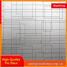 home used adhesive window static cling film