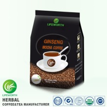 Lifeworth high quality mocha powder tongkat ali extract malaysia bulk instant ginseng coffee