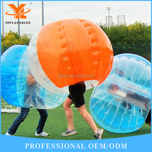 Inflatable Bubble Soccer Park, Healthy Inflatable Bumper Ball Game