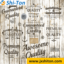 Wood grain letter hot sale jiangxi foshan cheap floor tiles