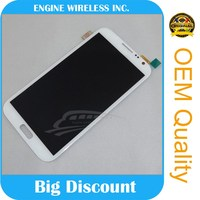Wholesale lowest price for samsung galaxy note 2 ii i317 n7100 t889 lcd screen with digitizer assembly