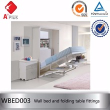 WBED003 save space folding wall mounted bed mechanism