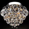 New fancy hotel home deco honeycomb crystal ball ceiling lights
